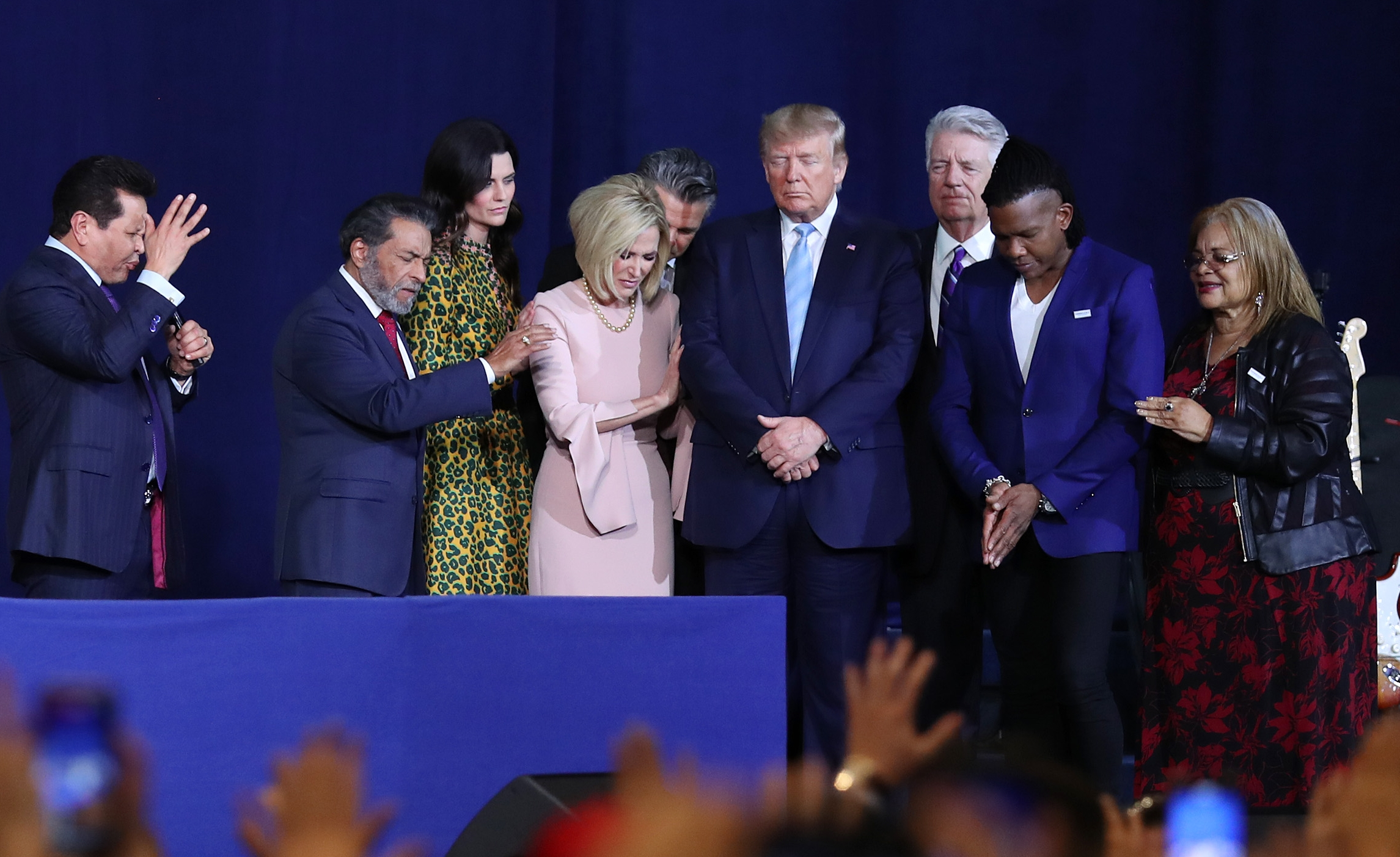 Donald Trump evangélicos