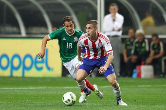 Robert Piris da Motta está en la Selección Nacional de Paraguay.