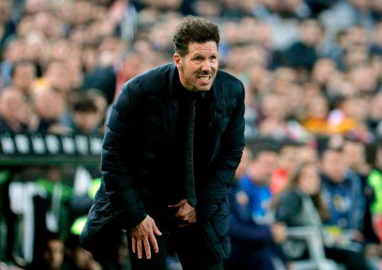 El 'Cholo' Simeone está urgido de buenos resultados con el Atlético.