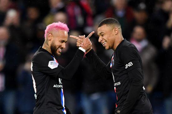 neymar y Mbappé son los mejores pagados de Francia
