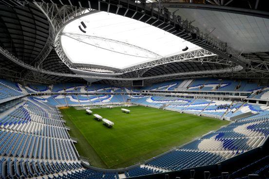 El Estadio Al Janoub es uno de los que el comité organizador ya tiene funcionando al 100%
