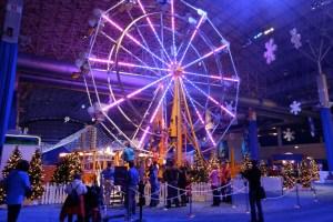 Winter Wonderfest, el tradicional festival navideño y de invierno de Navy Pier, en el centro de Chicago.