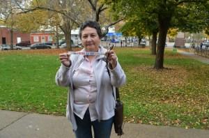 Ana Salinas votó en Chicago, ella cree que las mujeres harán historia en estas elecciones.