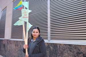 La salvadoreña Daysi López, residente permanente, decidió finalmente naturalizarse. (Belhú Sanabria / La Raza)